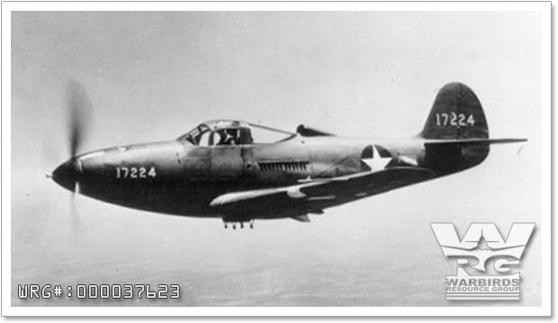 Bell P-39F-1-BE Airacobra 41-7224