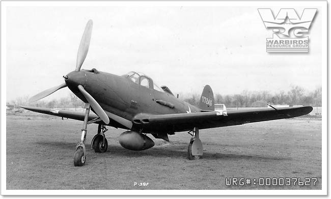 Bell P-39F-1-BE Airacobra 41-7246