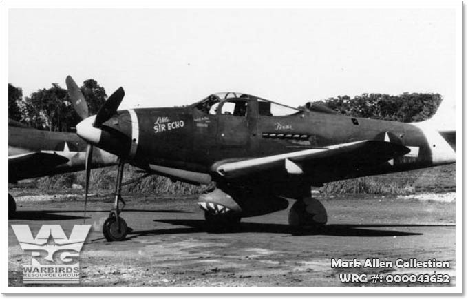 Bell P-39N-5-BE Airacobra 42-19027