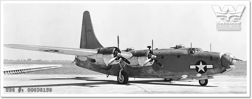 U.S. Navy Consolidated PB4Y-2 Privateer/Bu. 59351 at NAS Patuxent River, MD, July 11, 1944.