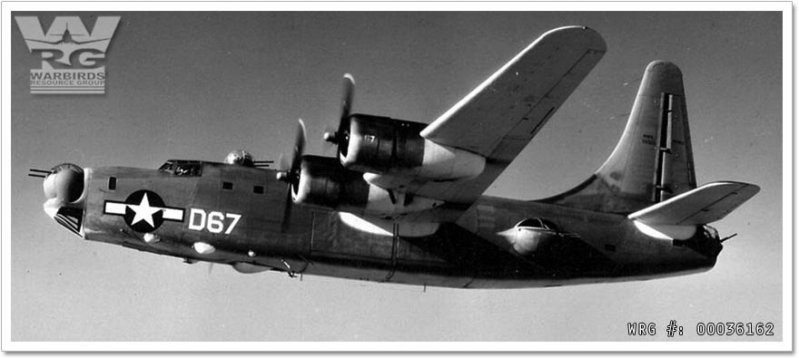 A U.S. Navy Consolidated PB4Y-2 Privateer/Bu. 59533 of heavy patrol squadron (landplane) VP-HL-3 in 1946/47.